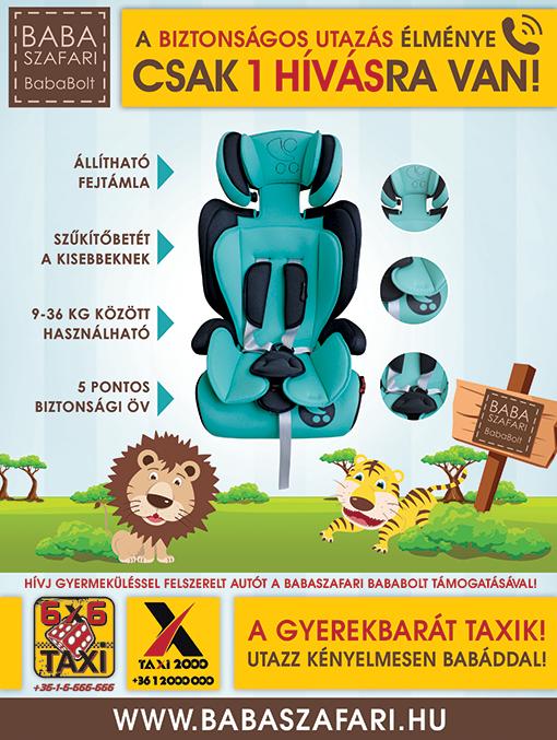 Babaszafari és 6X6 Taxi együttműködés!
