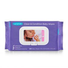 Lansinoh baba törlőkendő 80 db