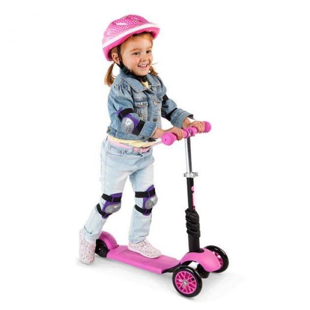 Y Volution Y Glider 3 in 1 roller - pink