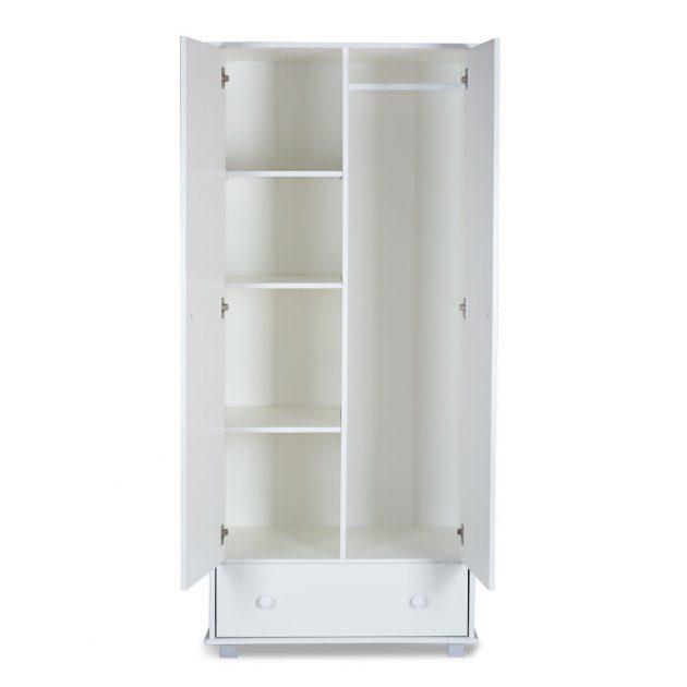 Klups Szafari/Zsiráf 2 ajtós szekrény - fehér (biel)