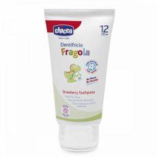 Chicco fluorid mentes fogkrém 12hó+ 50ml - eper izű