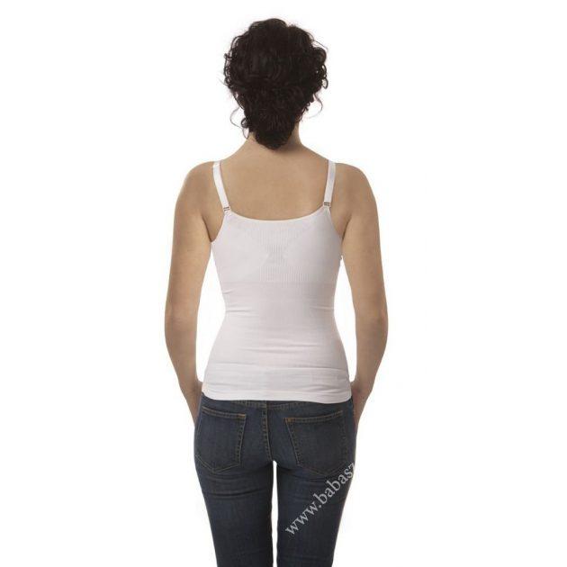 Carriwell Hasleszorító szoptatós top L - fehér