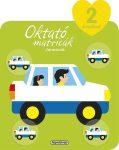 Napraforgó Oktató matricák - Járművek (2 éveseknek)