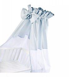 Klups univerzális baldachin kiságyra - Niebieski/kék