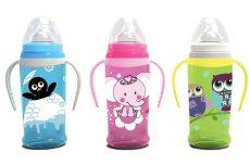 Baby Care itató puha ivócsőrrel, fogantyúval