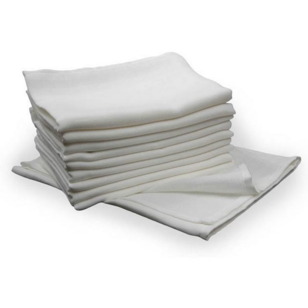 Scamp fehér textilpelenka 10db
