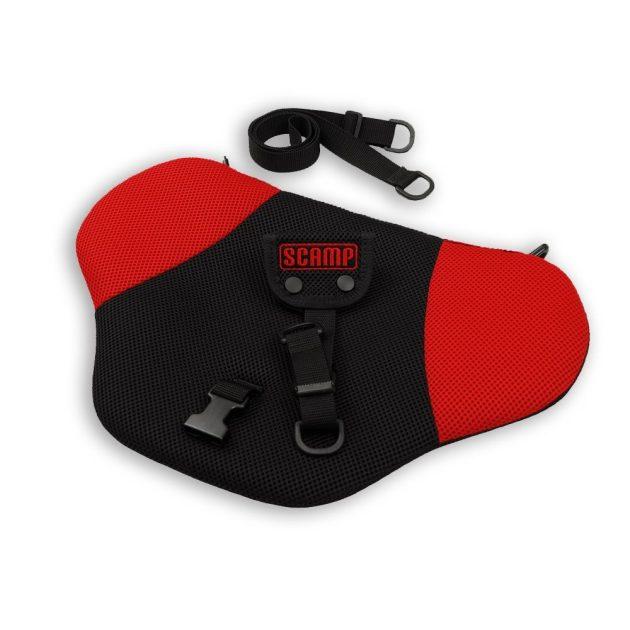 Scamp Biztonsági övterelő piros