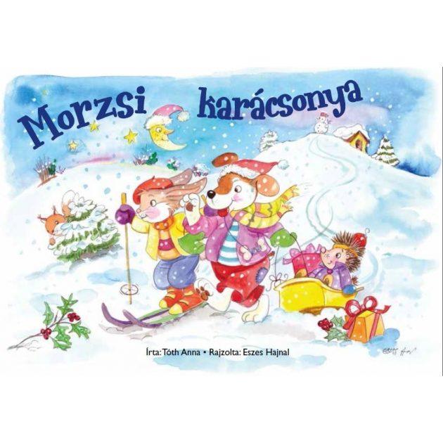 Napraforgó Kifestőfüzet ovisoknak - Morzsi karácsonya