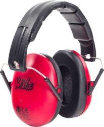 Edz Kidz - gyerek hallásvédő fültok - piros