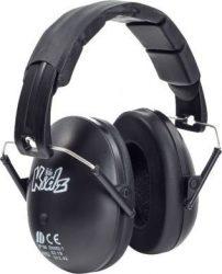 Edz Kidz - gyerek hallásvédő fültok - fekete