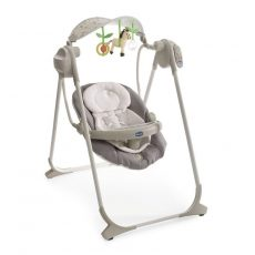 Chicco Polly Swing Up elektromos babahinta 9kg-ig - Silver 2016