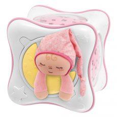 Chicco Szivárvány kocka, projektor és éjszakai fény - Pink