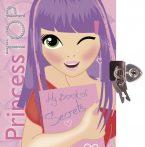 Napraforgó Princess TOP - My book of secrets (pink)