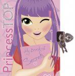 Napraforgó: Princess TOP - My book of secrets (pink)