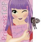 Napraforgó: Princess TOP - My book of secrets (purple)