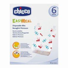 Chicco EasyMeal eldobható előke 6m+ 40db