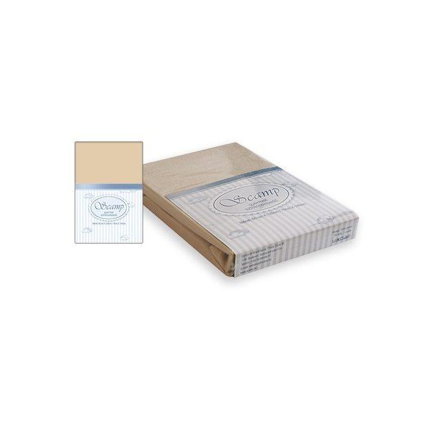 Scamp gumis lepedő  60x120-70x140 bézs