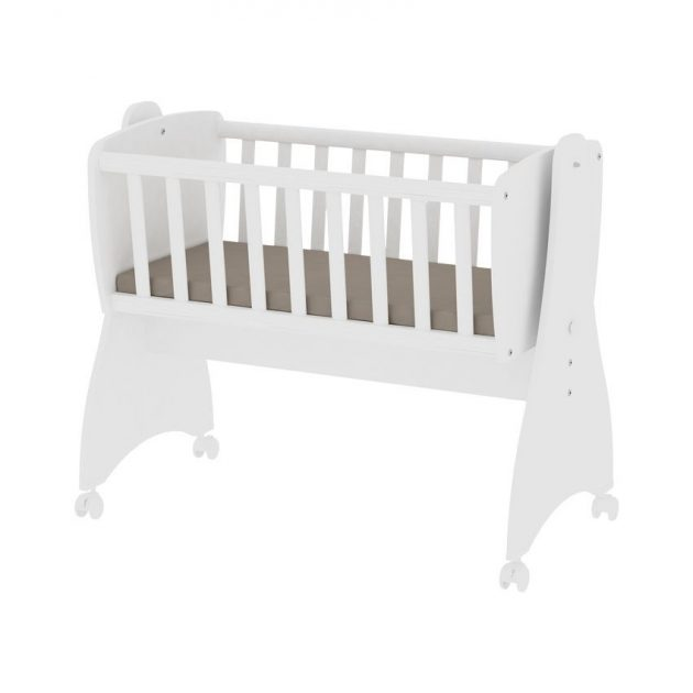Lorelli First Dreams ringatható bölcső 105x55 - White / Fehér