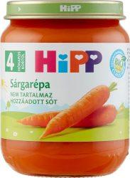 Hipp Főzelékek Sárgarépa 4 hó 125 g