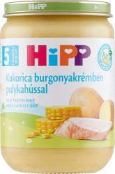 Hipp Bébi menük Kukorica burgonyakrémben pulykahússal 5 hó 190 g