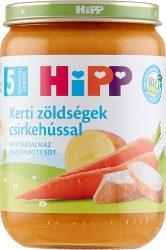 HIPP Kerti zöldségek csirkehússal 190g