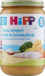 HIPP bébiétel - Tészta tengeri hallal és brokkolival 220g