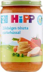 HIPP Zöldséges tészta csirkehússal 220g
