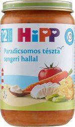 Hipp Gyermek menük Paradicsomos tészta tengeri hallal  12 hó 220 g