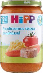 HIPP bébiétel - Paradicsomos tészta borjúhússal 220g