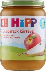 HIPP bébiétel - Őszibarack körtével 190g