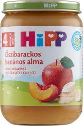 HIPP Gyümölcsök Őszibarackos-banános alma 4 hó 190 g