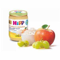 HIPP Alma-szőlő rizzsel 190g