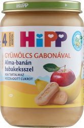 HIPP Alma-banán babakeksszel 190g