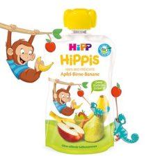 HIPP bébiétel - Alma-körte-banán 90g
