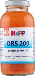 HIPP gyümölcslé - ORS Sárgarépa-rizs 200ml
