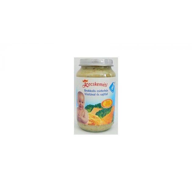 Kecskeméti 8 hó menük - Szárnyas húsos Brokkolis csirkehús tésztával és sajttal 8 hó 220 g