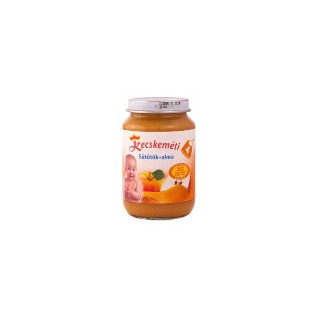 Kecskeméti Gyümölcsök Sütőtök-alma 4 hó 190 g