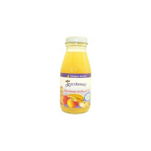 Kecskeméti Bébiitalok Alma-banán-őszibarack ital 4 hó 200 ml
