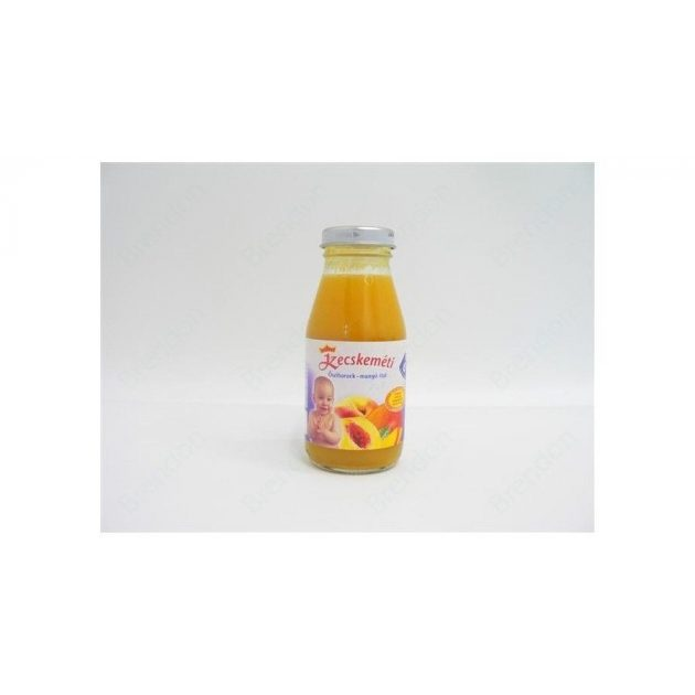 Kecskeméti Bébiitalok Őszibarack-mangó ital 6 hó 200 ml