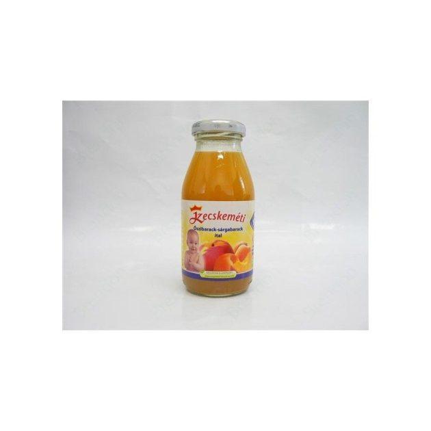 Kecskeméti Bébiitalok Őszibarack-sárgabarack ital 4 hó 200 ml