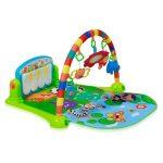 Lorelli Toys játszószőnyeg - Piano Gym Blue/Kék