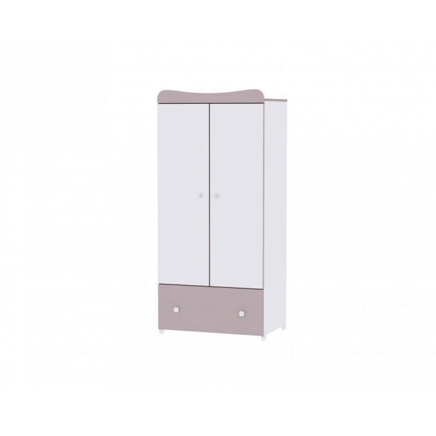 Lorelli Exclusive szekrény - White & Cappuccino / Fehér & Cappucino