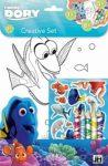 Napraforgó Disney: Dory - szinezőkészlet matricákkal