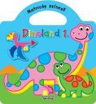 Napraforgó Dinoland 1. kék