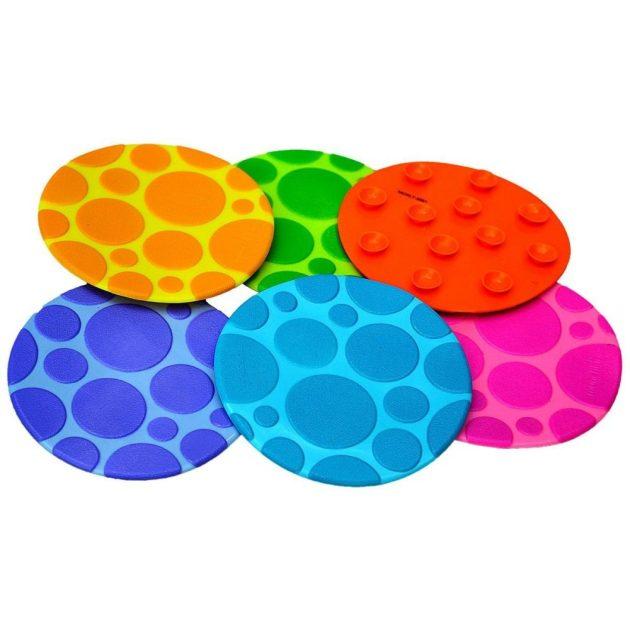 Munchkin Grippy Dots csúszásgátló körök hőérzékelővel (6db)