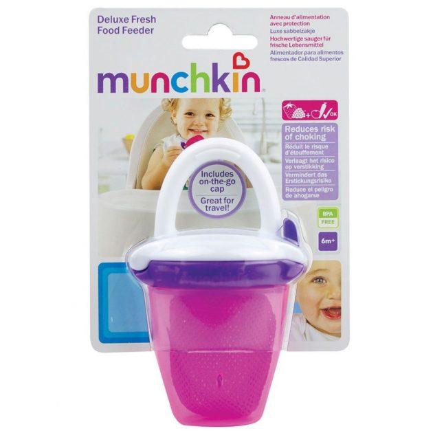 Munchkin etetőháló tárolóval - vegyes színekben