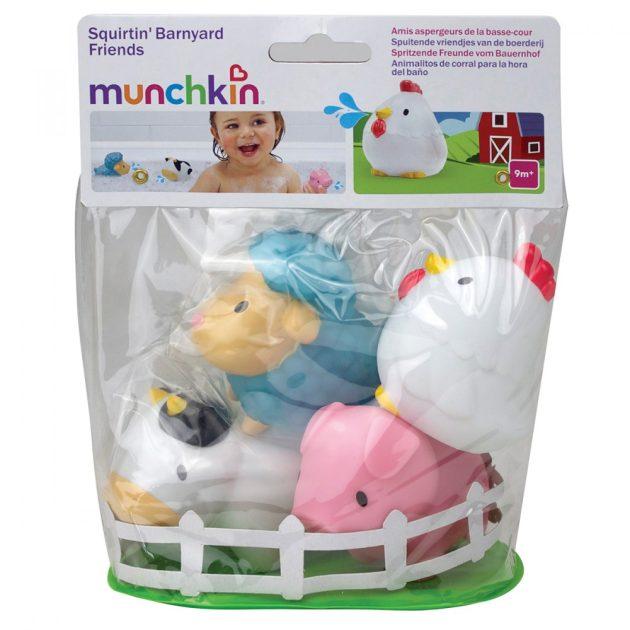 Munchkin fürdőjáték - Farm (4db)