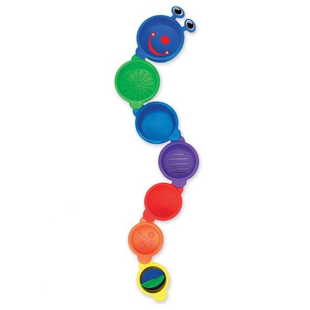 Munchkin fürdőjáték - Caterpillar Spillers / Hernyó