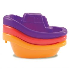 Munchkin fürdőjáték - Little Boat Train / Kishajók (3db)
