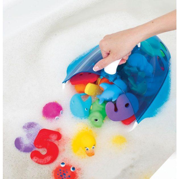 Munchkin fürdőjáték tároló